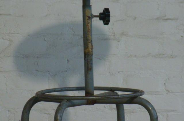 Sgabello regolabile metallo : emporium 1919